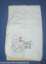couverture neuve ultra douce disney panpan pour landau berceau cosy