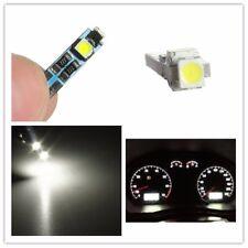 1x T5 3 LED 3528 SMD pure White Dashboard Gauge Light Car Signal bulbs mini 12V