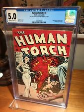 HUMAN TORCH #30 Golden Age Timely Captain America Submariner CGC 5.0