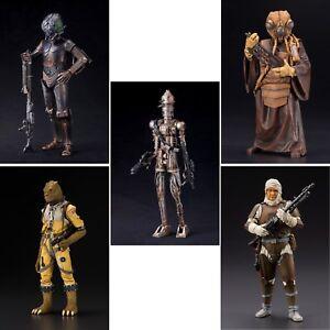 Star Wars Bounty Hunters ArtFX+ Statues by Kotobukiya BAF Boba Fett - Choose