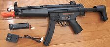 JG Metal Gearbox Airsoft Electric Gun MP5 J Adjustable Gearbox 300-400 FPS ADJ.