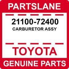 0421166010 Genuine Toyota CARBURETOR KIT 04211-66010