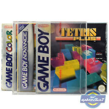 3 x Gameboy Box Protectors For Game Boy Color Advance 0.4mm Plastic Display Case