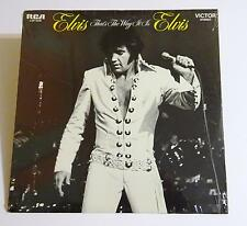 "ELVIS PRESLEY ""That's The Way It Is"" Sealed Record Album RCA LSP-4445 33RPM NM/M"