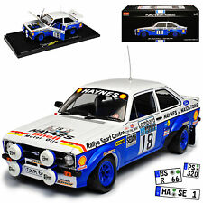 Ford Escort RS1800 Nr 18 Taylor Short RAC Rally 1979 1/18 Sun Star Modell Auto m