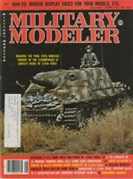 "[73786] ""MILITARY MODELER"" MAGAZINE AUGUST 1979 - Volume 6, No. 8"