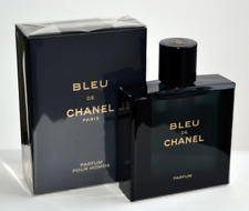 Chanel Bleu De Chanel Parfum 3.4 fl.oz / 100 ml - For Men, SEALED!