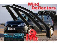 Deflectores de Aire para Dacia Sandero Stepway 2012 J/&J AUTOMOTIVE Team Heko 4 Unidades
