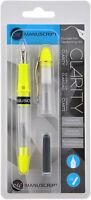 Manuscript Clarity Fountain Pen -Yellow