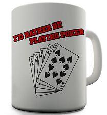Play Poker Funny Design Novelty Gift Tea Coffee Office Mug