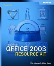 Microsoft Office 2003 Editions Resource Kit (Pro-Resource Kit)