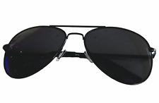 Aviator Brille Black Pilotenbrille Fliegerbrille Sonnenbrille Schwarz TOP GUN