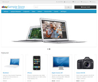 E-commerce Store w/Paid Hosting w/Paid Domain - Your Website - NO MONTHLY BILLS