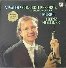 PHILIPS 9500 604-VIVALDI-5 CONCERTI PER OBOE-I MUSICI-ORIGINAL VINYL LP-IMPORT