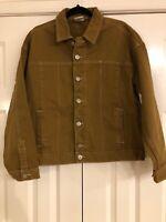 Urban Outfitters Mens BDG Brown Denim Jacket, Medium, NEW!
