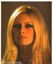 BRIGITTE BARDOT FRENCH SIGNED PHOTO POSTER AUTOGRAPH w BB FOUNDATION STAMPED COA