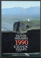 Island Jahresmappe 1990 postfrisch MNH (W691
