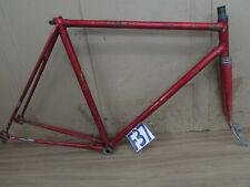56cm ITALIAN MONDIAL ROAD FRAME FIXIE SINGLE SPEED CAMPAGNOLO DROPOUTS c1960's