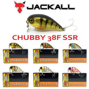 JACKALL BROS. CHUBBY 38 F SSR LAKE POLICE FLOATING PETIT CRANK BAIT 38mm 4.2g