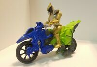 Power Rangers Dino Charge Cycle & Gold Ranger Figure 2015 Bandai Bike Motorcycle