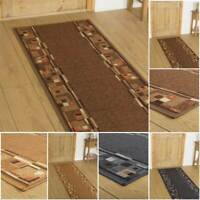 EXTRA LONG BROWN BLACK BEIGE FLOOR HALL HALLWAY RUNNER RUG CARPET MAT