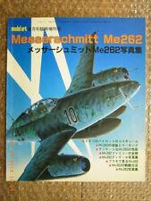 MESSERSCHMITT Me262, PICTORIAL MODEL ART SPECIAL ISSUE #202 JAPAN