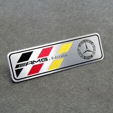 Aluminium Car Auto Styling Decor Decal Badge Emblem Fits for Mercedes-Benz AMG