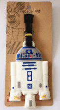 R2-D2 Star Wars Baggage Kids Schoolbag Suitcase PVC Travel Luggage Tags Gift -1