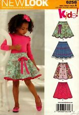 New Look Sewing Pattern 6258 Childs Skirt