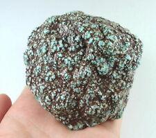 1149Ct Natural High-hardness Spiderweb Turquoise Rough Specimen YKM3891