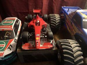 Tamiya F104 Upgraded Ferrari F60 Shelf Queen 1/10 RC Indy Car Chassis F103 Vii
