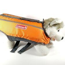 COLEMAN Dog Jacket Life Saver Preserver Flotation Vest Swim Safe S 13 - 20 lbs