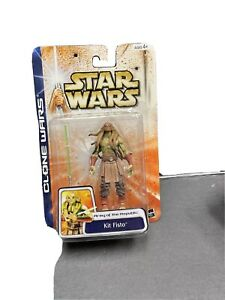 "NEW STAR WARS CLONE WARS #49 ARMY OF THE REPUBLIC KIT FISTO 3.75"" FIGURE! s146"