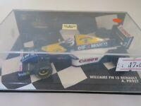 MINICHAMPS 1/43 WILLIAMS RENAULT FW15C #2 A. PROST 1993 WORLD CHAMPION 430930002