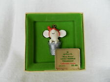 Hallmark Keepsake Merry Mouse Christmas Ornament Collector's Series