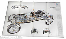 Poster Opel Rennwagen 1913 Beilage Zeitschrift Opel Start 80er J Motorsport Auto