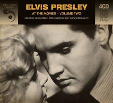 ELVIS PRESLEY - AT THE MOVIES 2  4 CD NEUF