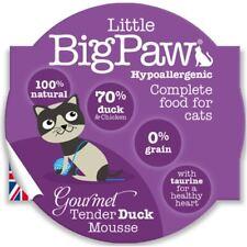 Little Big Paw Gourmet Wet Cat Food, Tender Duck Mousse 8 x 85g