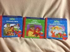 Lot  3- SESAME STREET READ ALONG WITH ELMO 4