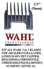 """Wahl 1/3"""" (9mm) Attachment GUIDE 5 in 1 Blade COMB-Arco,Chromado,Bravura Clipper"""