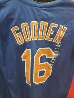 dwight gooden doc jersey t-shirt shirt size SMALL S new york mets cooperstown ny