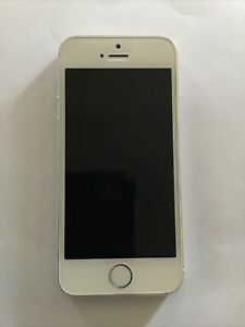 Apple iPhone 5s 16GB Silver Fully Functional. Was On Metropcs Network
