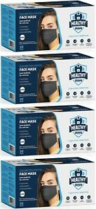 100/200 PCS Black Face Mask Mouth & Nose Protector Respirator Masks USA Seller