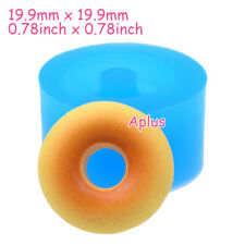 TEB022 19.9mm Donut Doughnut Silicone Mold Polymer Clay Resin Fondant Chocolate