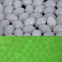 Les perles de pêche lumineuses ovales de 100X luisent dans le leurre foncé fl_fw
