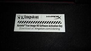 Kingston Acronis True Image HD Software OEM Activation Key