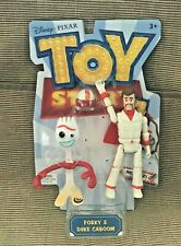New 2018 Mattel Disney Toy Story 4 Poseable Forky & Duke Caboom Action Figure