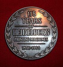 """Placa para máquina de impresión """"Heidelberg"""""""