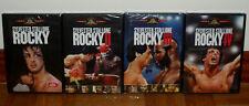 ROCKY COLECCION I-IV 4 DVD NUEVO PRECINTADO DRAMA SYLVESTER STALLONE (SIN ABRIR)