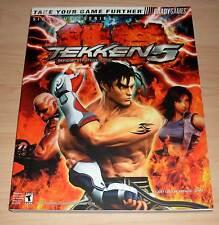 Tekken 5 - Official Strategy Guide - Bradygames ( Teken V Strategie Berater )